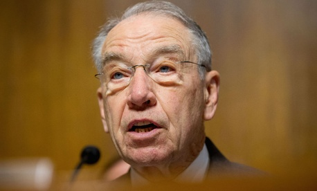 Sen. Charles Grassley, R-Iowa, is one of the senators looking into the reorganization.