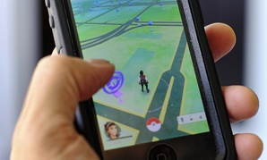 Pokemon Go is displayed on a cell phone in Los Angeles on Friday, July 8, 2016.
