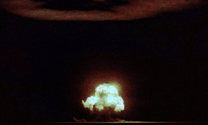 Jack Aeby's still photo is the only known well-exposed color photograph of the 1945 Trinity detonation.