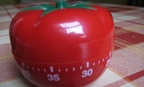 The Pomodoro Technique is based on an Italian timer shaped like a tomato.
