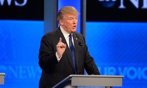 Trump debates in February.