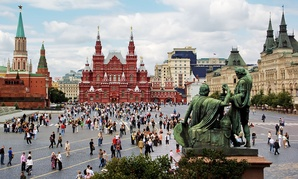 Moscow's Red Square.