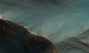 Steep Slopes of Hebes Chasma