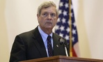 USDA chief Tom Vilsack notified employees of the threats in an email.