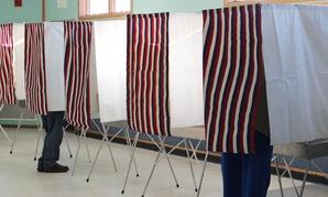 Residents vote on Kodiak Island in Alaska in 2012.