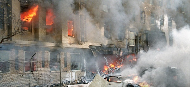 The Sept. 11 attack on the Pentagon killed 184 people.