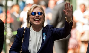 Hillary Clinton: Lookin' good and feelin' great. Except she has pneumonia. And is insulting voters.