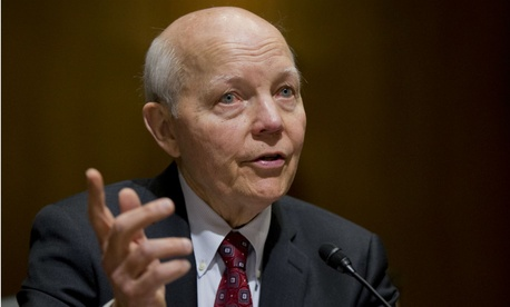 IRS chief John Koskinen will have an opportunity to testify.