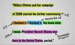 Samantha Bee's notes on Trump's statement show what's truth and what's a lie.