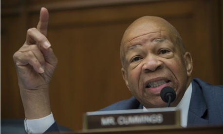 "Rep. Elijah Cummings, D-Md., said: ""No employee in the federal civil service should ever feel afraid to come to work."""