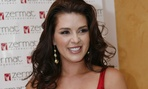 Alicia Machado is shown at her perfume launch in 2009 in Mexico City.