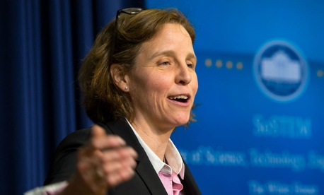 "U.S. Chief Technology Officer Megan Smith said agency teams are ""laying the foundation of the next wave of the data movement."""