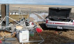 Occupiers at the Malheur National Wildlife Refuge left behind trash and damaged the refuge's headquarters facility and visitors center.