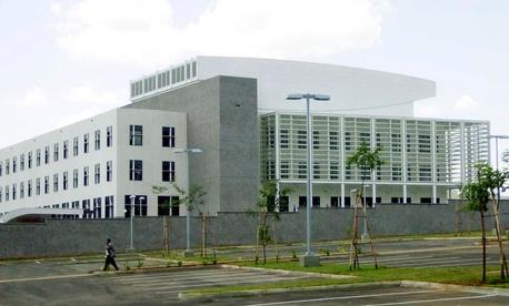 The U.S. embassy in Kenya is one of the most secure buildings in Nairobi.