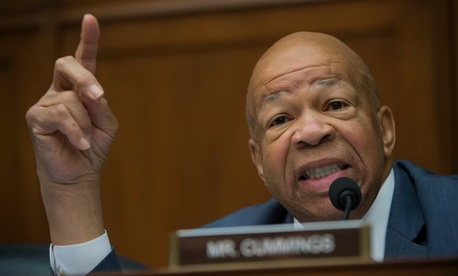 """Rep. Elijah Cummings, D-Md., said: """"We have never had a president like Mr. Trump in terms of his vast financial entanglements and his widespread business interests around the globe."""""""