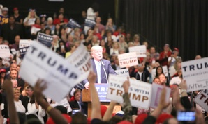 President-elect Donald Trump at a campaign rally in September in California.