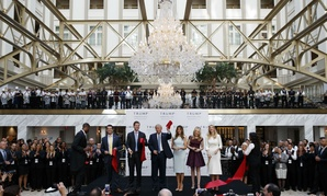 Then candidate Donald Trump took time out of his presidential campaign for the Oct. 26 grand opening of the Trump International Hotel in Washington.
