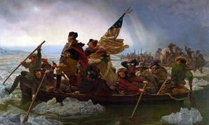 """Washington Crossing the Delaware"" (1851), by Emanuel Leutze"