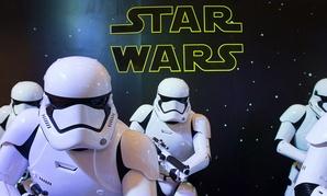 Perhaps Trump is hiding in a Stormtrooper uniform.