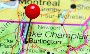 Burlington, Vt., is one of two new locality areas.