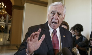 "Rep. Steny Hoyer, D-Md., said the rule change would allow for ""short-sighted"" pay cuts that unfairly ""scapegoat"" federal employees."
