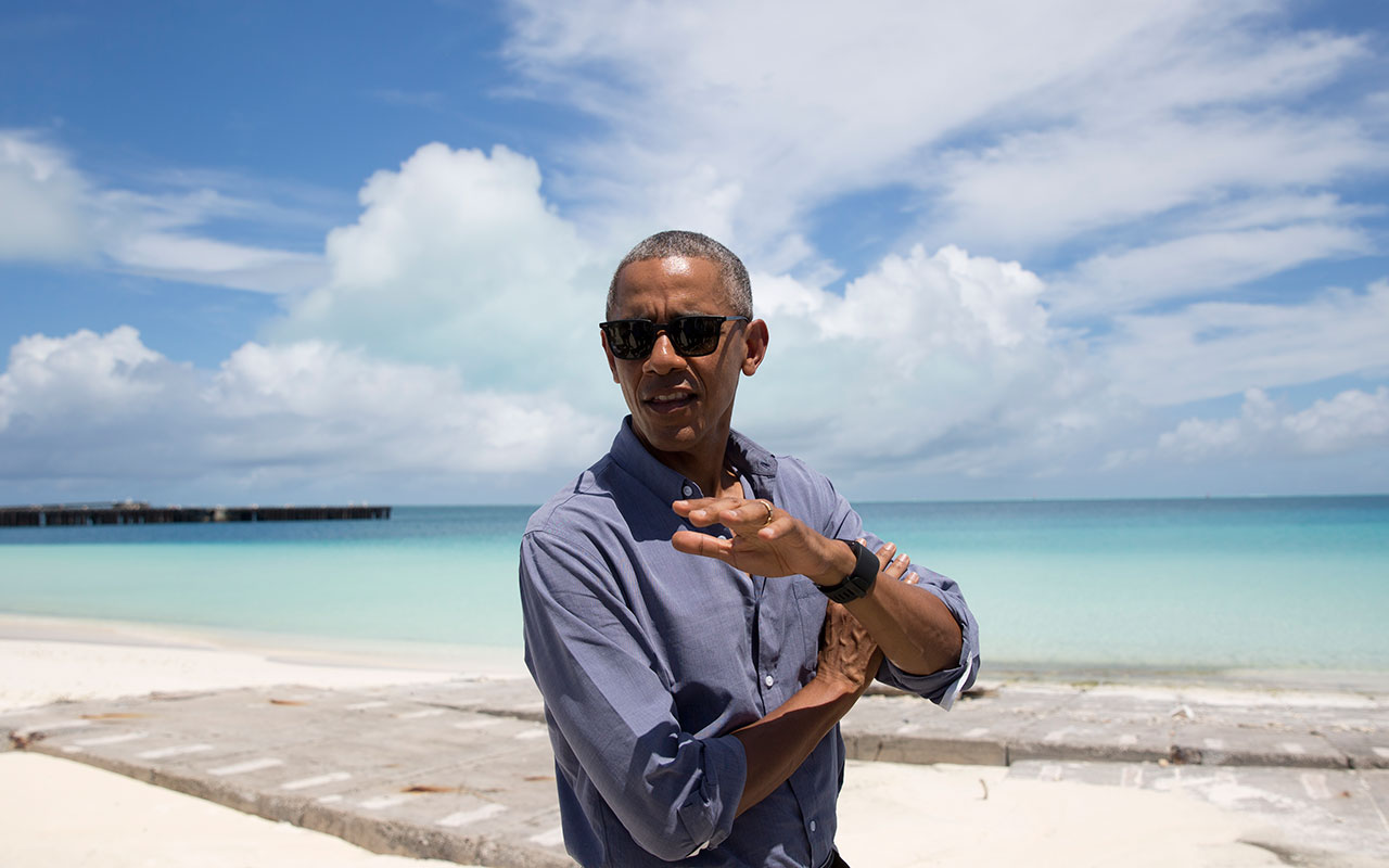 Obama The Ocean President Management Govexec Com