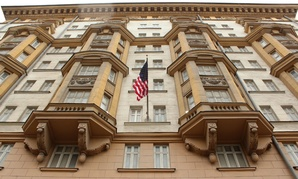 the US Consulate in Moscow.