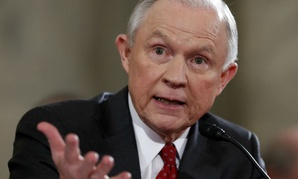 Attorney General-designate, Sen. Jeff Sessions, R-Ala., testifies on Capitol Hill in Washington.