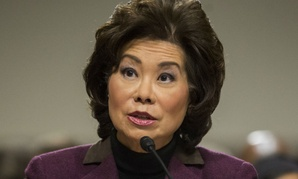 Transportation Secretary-designate Elaine Chao testifies on Capitol Hill in Washington, Wednesday, Jan. 11, 2017.