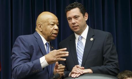 Rep. Elijah Cummings, D-Md., (left)  has defended the head of OGE against attacks from Rep. Jason Chaffetz, R-Utah.
