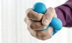 A stress ball can help.