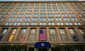 The Department of Veterans Affairs headquarters in Washington.
