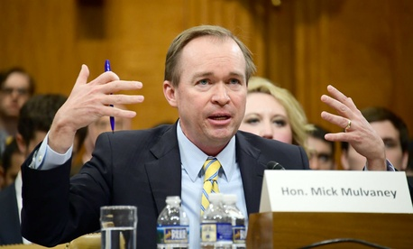 Rep. Mick Mulvaney testifies at his nomination hearing to lead the Office of Management and Budget.