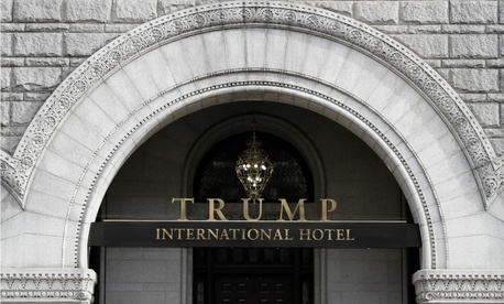 The Trump International Hotel at 1100 Pennsylvania Avenue, NW, in Washington.