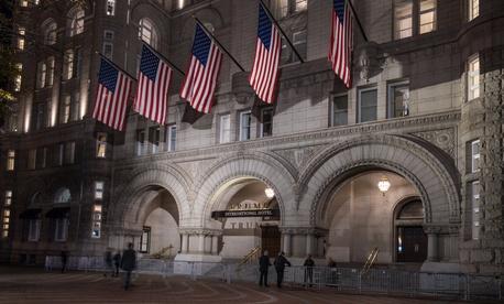 The Trump International Hotel in Washington D.C.