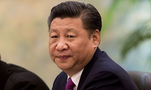 Xi Jinping is seen in Beijing in December.