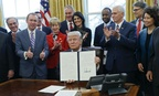 President Trump signed an executive order March 13 aimed at reforming the executive branch.