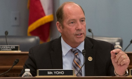 Rep. Ted Yoho, R-Fla., introduced the bill.