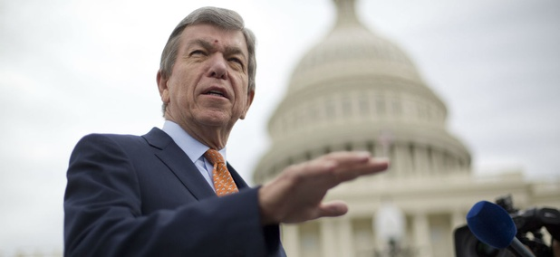 """Sen. Roy Blunt, R-Mo., said on Tuesday that Congress is hammering out an omnibus spending bill, and he guessed it """"comes together better without the supplemental."""""""