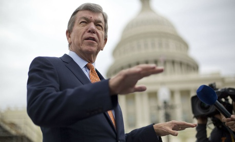 "Sen. Roy Blunt, R-Mo., said on Tuesday that Congress is hammering out an omnibus spending bill, and he guessed it ""comes together better without the supplemental."""