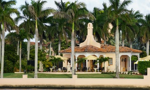 The Mar-a-Lago estate is seen in November.