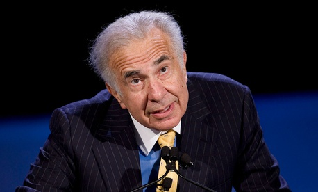 Trump's billionaire special adviser Carl Icahn is one of the men Passantino recently worked for.