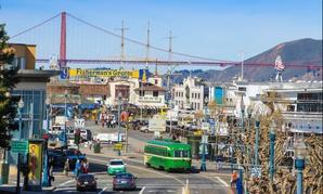 Fishermens Wharf in San Francisco