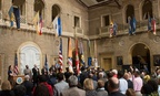 USDA employees gather for the Unsung Hero Award Program of the Organization of Professional Employees of the U.S. Department of Agriculture in Washington on May 4, 2017.