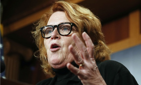 Sen. Heidi Heitkamp, D-N.D., encouraged collaboration between federal employees and Congress and noted she is working on civil service reform legislation with her Republican counterpart.