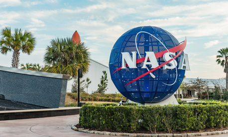 Kennedy Space Center in shown in February.