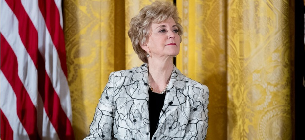 """SBA Administrator Linda McMahon said: """"It is a win-win for federal agencies to get small business contracts into the hands of the innovative small business owners that create jobs in their communities and help to fuel the nation's economy."""""""