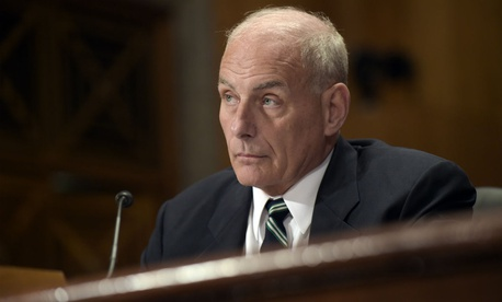 Homeland Security Secretary John Kelly received a waiver to participate in matters affecting the government of Australia.