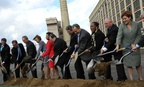 GSA officials join New York Mayor Michael Bloomberg, members of New York's Congressional Delegation, and other local officials for a groundbreaking ceremony at Sunset Park in Brooklyn in 2011.