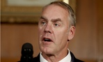 Interior Secretary Ryan Zinke told senators he would work to improve morale among employees who remain.